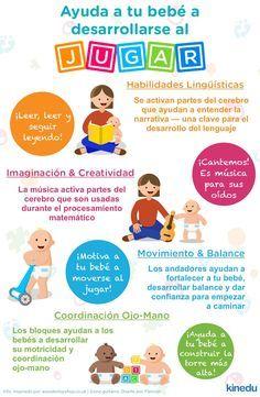 Ayuda a tu bebé a desarrollarse al jugar: Los andadores ayudan a que tu bebé se mueva, desarrollar su balance y darle confianza al caminar. Conoce la importancia de la estimulación temprana en tu bebé http://tugimnasiacerebral.com/para-bebes/por-que-es-importante-la-estimulacion-temprana-para-los-bebes #Infografia #Estimulacion #Temprana #Bebes #gimnasia #Cerebral