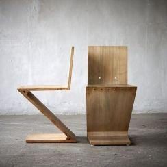 Gerrit Rietveld - Zig Zag Chairs