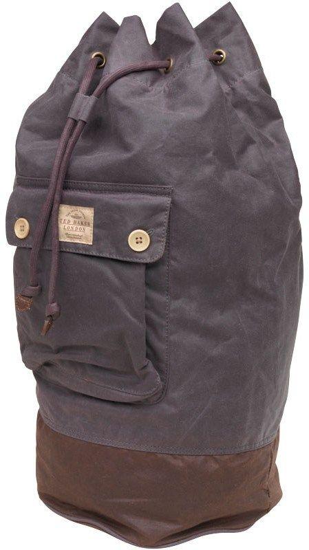 Ted Baker Herren  Duffle Bag Mit Kordelzug Grau