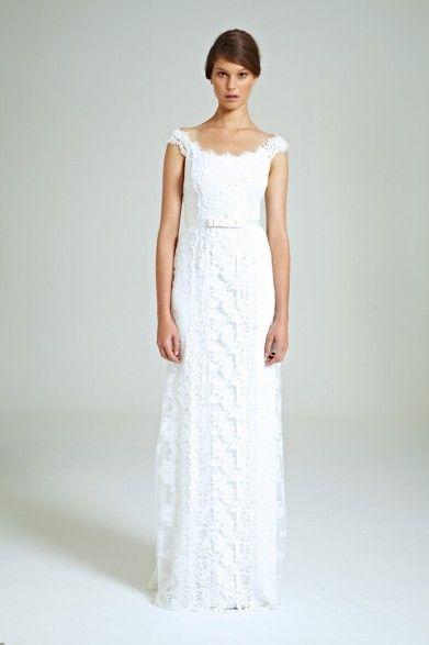 Collette Dinnigan Romance Wonderland Lace Panelled Gown