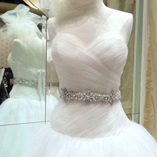 romantically soft classic tulle ball gown by victoria