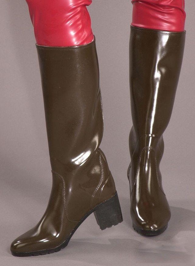 Https Flic Kr P Hc6moe Acquo Block Heel Wellies 2