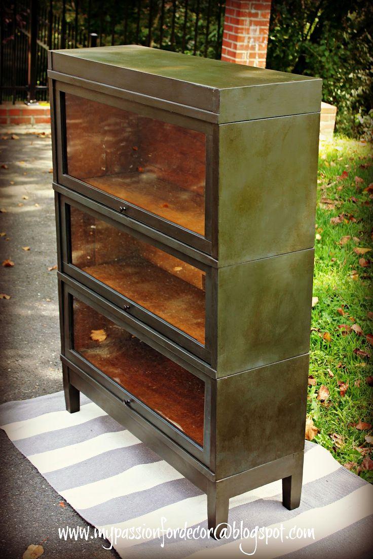 My Passion For Decor: Graphite Barrister Bookcase For Sean                                                                                                                                                                                 More
