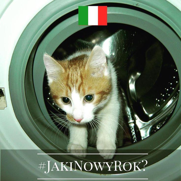 Jaki będzie Nowy Rok? Tego jeszcze nie wiemy, ale znamy ciekawe sylwestrowe i noworoczne zwyczaje europejczyków. Chcecie je poznać? Śledźcie naszą instakampanię każdego dnia, aż do 1 stycznia 2016 r. Wejdźmy w nowy, 2016 rok razem z nadzieją i uśmiechem!  Dzień 5 - Włochy! A właściwie - Mediolan i ...pralki! Ale nie bójcie się, kotu nic się nie stanie. Znalazł się tu tylko dlatego, że podobno zdjęcia z kotami przynoszą więcej lajków ;) Ten zwyczaj jest za to nieco niebezpieczny i niezbyt…