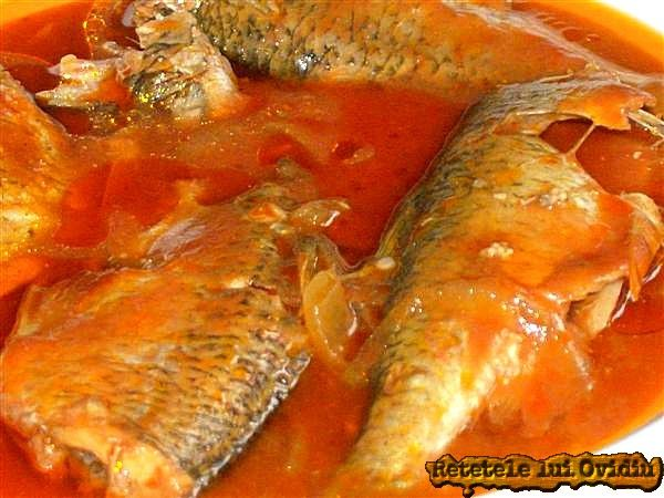 Peste in sos tomat. La cuptor | Papamond