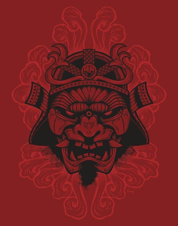 Es el demonio de un samurai