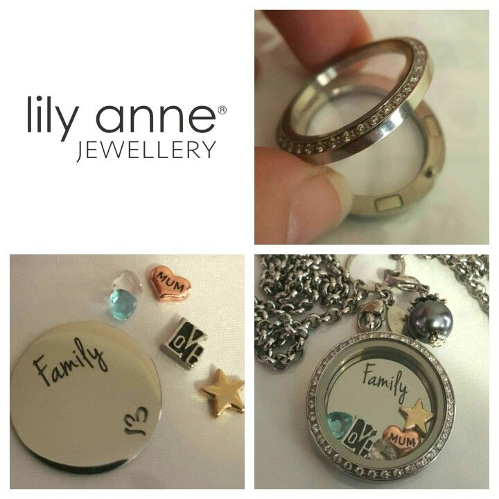 Choose your locket, choose your charms, add a statement plate then accessories. The perfect way to show the moments in life that matter most to you. www.lilyannejewellery.com.au amesarnott@gmail.com
