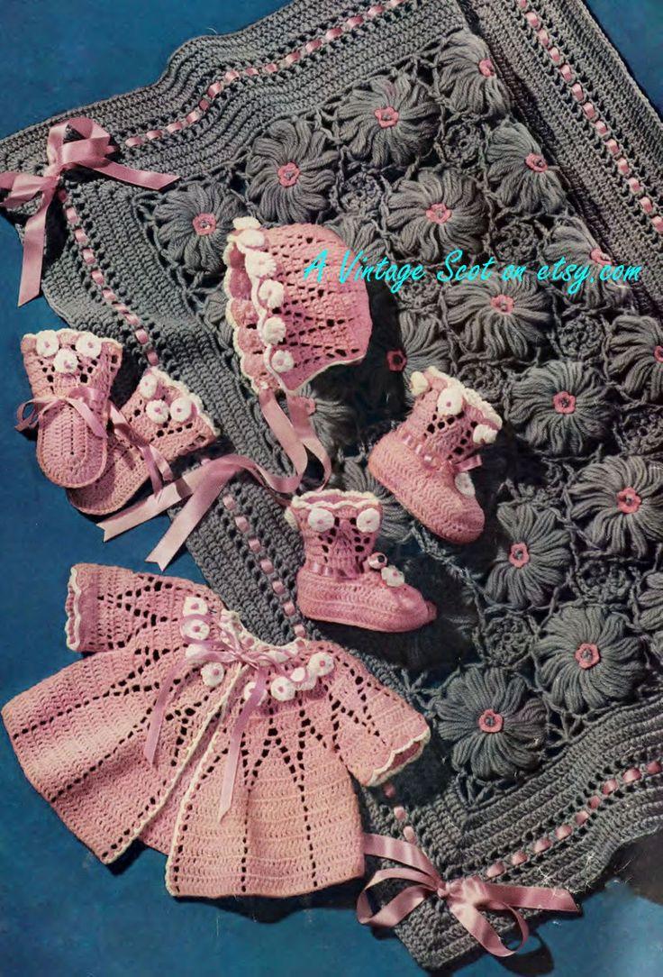 224 best Knitting & Crochet For Baby images on Pinterest | Filet ...