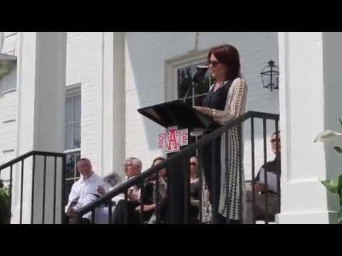Dedication of Johnny Cash boyhood home in Dyess, Arkansas - YouTube