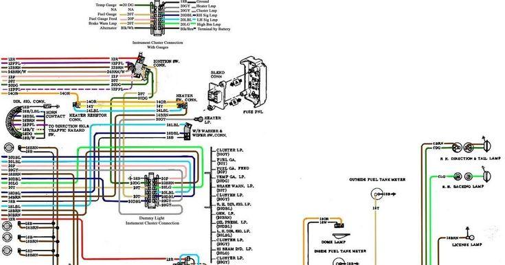 67 72 Chevy Wiring Diagram Chevy Trucks 72 Chevy Truck 67