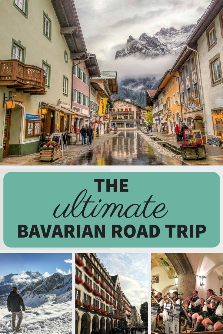 Castles, picture-perfect villages, the Alps, beer... Come along with me for the ultimate Bavarian road trip!
