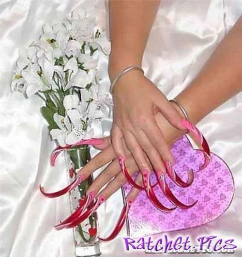 Extreme Ghetto Nails Ratchet Ghetto Fashion Pinterest Ghetto Nails And Nails