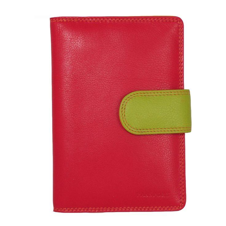 Gabee Passport Holder: Red - $45.00 #passportholder #passportwallet #passportcover