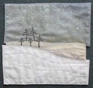 AND SEW IT GOES: Snow Trees 2