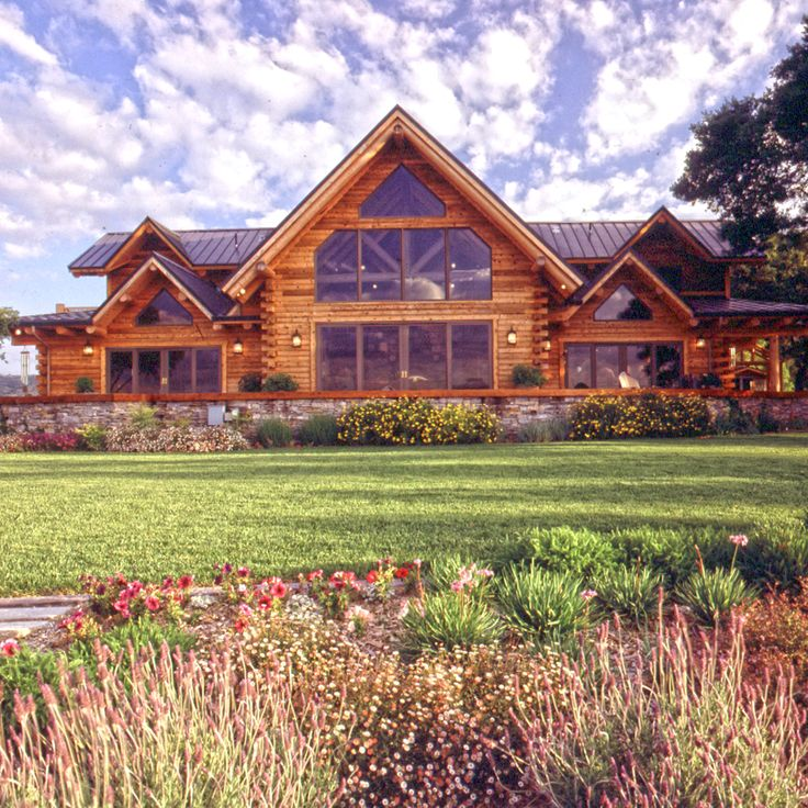Log Home Exterior Ideas: Best 25+ Modern Log Cabins Ideas On Pinterest