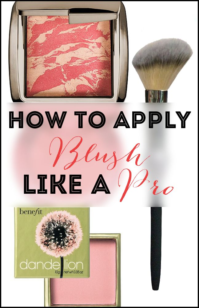 Struggle with where to apply your blush? Here's a quick and simple tutorial on WHERE to apply it and what brush you need to use, as well as some blush recommendations!