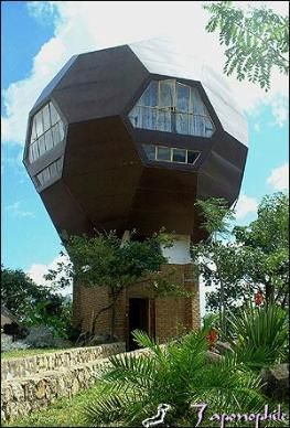Soccer Ball Shaped House Blantyre Malawi Built By