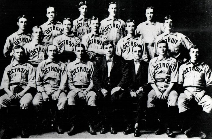 In 1895, after having previously been called the Detroit Wolverines and the Detroit Creams, Detroit's baseball team is dubbed the Tigers in articles appearing in the Detroit Free Press. Tigers most likely was borrowed from the nickname given to the Detroit Light Guard, a militia unit that had been the city's pride and joy since the Civil War. The team officially adopted the name upon entry into the American League in 1901.