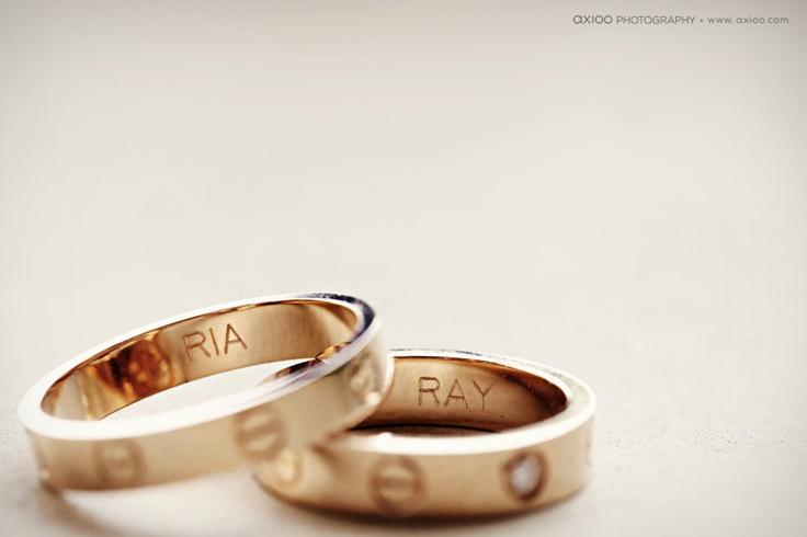 cartier love rings.