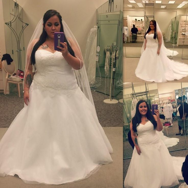 Plus Size Wedding Dresses White A Line Sweetheart Tulle Lace Maxi 2016 Bridal Gowns For Fat Bride Lace Up A Line Wedding Dresses With Sleeves Affordable Lace Wedding Dresses From Zlldress, $87.3| Dhgate.Com