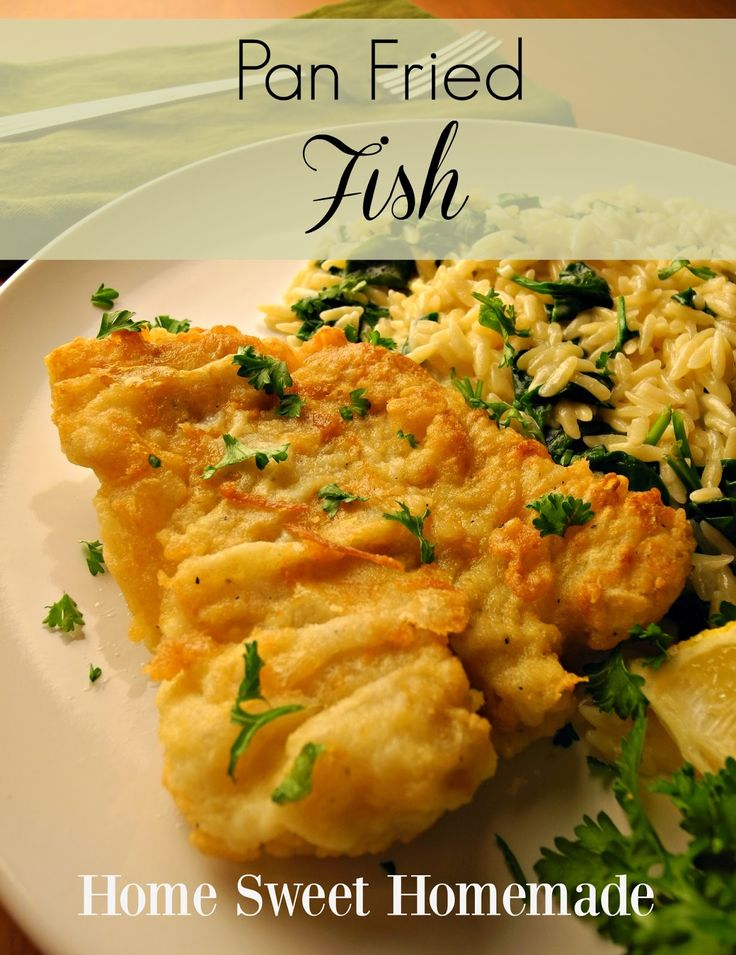 44 best images about recipes quick easy on pinterest for Pan fried fish recipe
