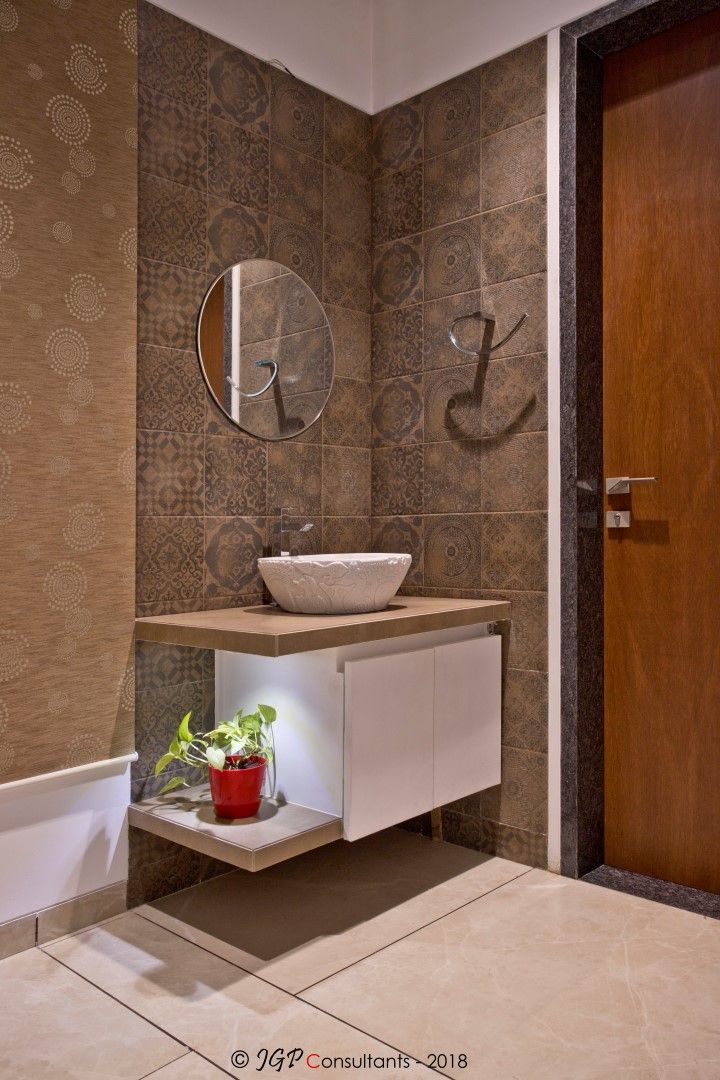 Own House Aangan Architects In 2020 Washroom Design Bathroom Design Small Washroom Decor