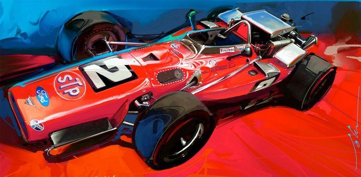 Visually tasty Indy cars from John Krsteski. John is a Design Manager at Hyundai.