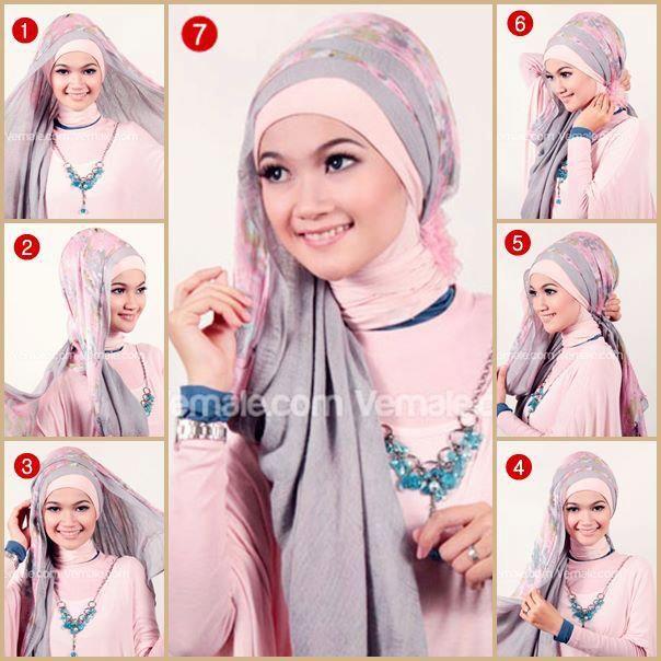 Muslim Women Beautiful Face When Wear Hijab