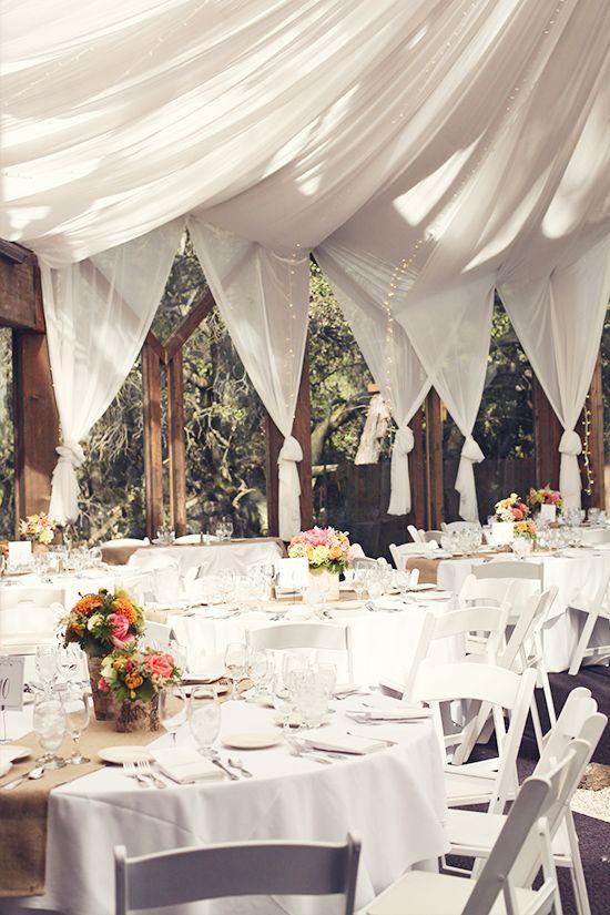 Rustic, whimsical ranch wedding venue