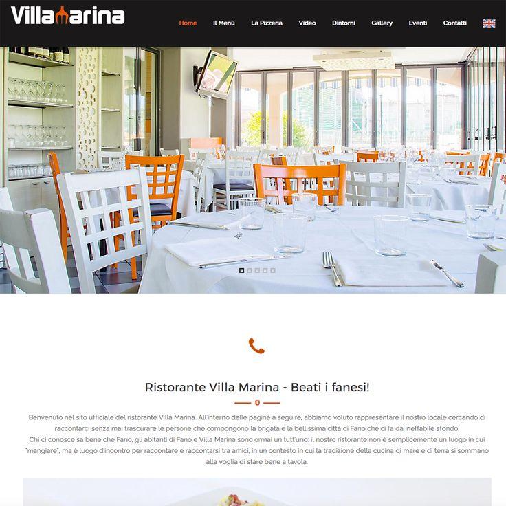 Villa Marina, lo storico ristorante fanese, cambia il suo look on-line e si affida ad Engenia! Scopri il nuovo sito web. www.villamarinafano.it