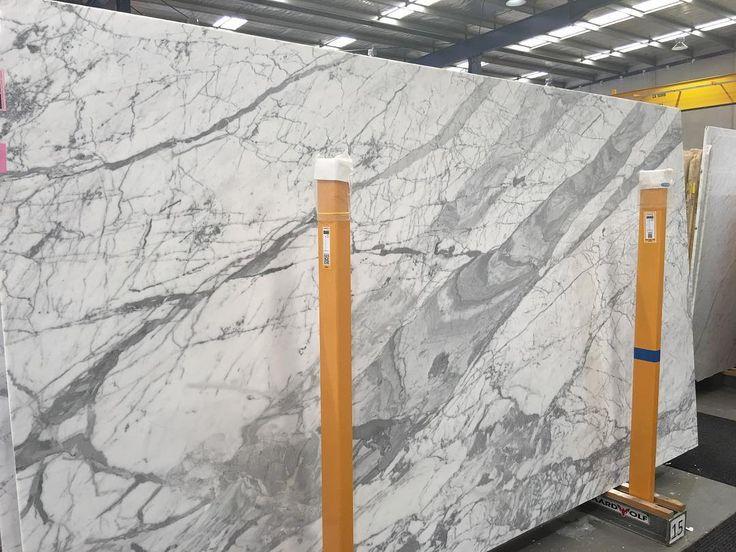 "272 Likes, 5 Comments - CDK Stone (@cdkstone) on Instagram: ""Statuario Venato Marble in our Melbourne showroom. Stunning  #cdkstone #statuariovenato…"""