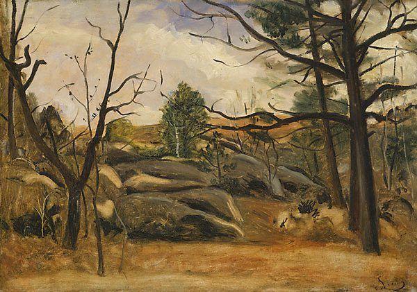 Andre Derrain: Landscape (1928)