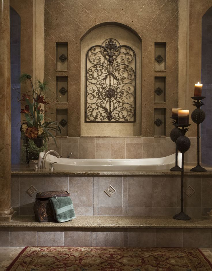 25 Best Images About Tuscan Bathroom On Pinterest! | Tuscany