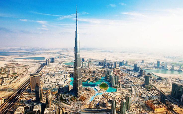 Shot of Dubai.