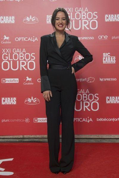 Mariana Pacheco em Elsa Barreto, Globos de Ouro 2016 Portugal