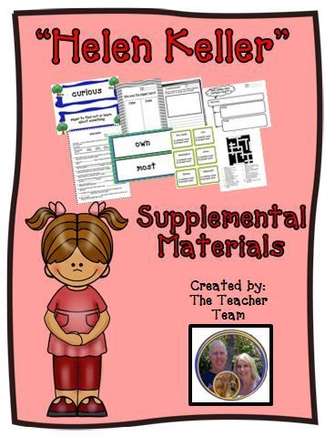 23 best helen keller unit images on pinterest helen keller helen keller journeys second grade unit 3 lesson 14 activities printables fandeluxe Ebook collections