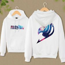 Hot Anime Fairy Tail Clothing Hooded Sweatshirt Casual Unisex Hoodie cosplay