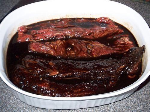 Bourbon Steak Marinade Recipe bourbon brown sugar Worchester sauce ...