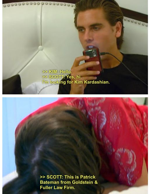Scott Disick Is literally the only reason I watch any show that involves a kardashian!
