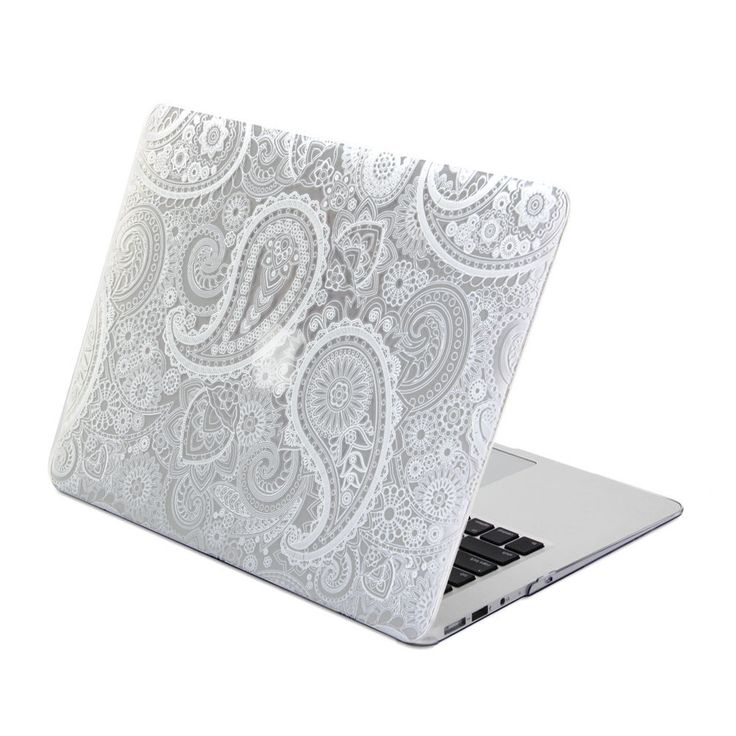 Hard Case Print Glossy Paisley Pattern For Apple MacBook Air 13 Inch