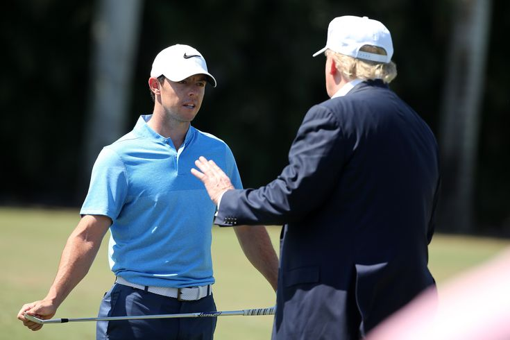 Rory McIlroy explains why he played golf with Donald Trump
