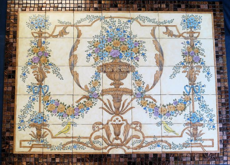 51 best hand painted tiles tile murals decorative tiles
