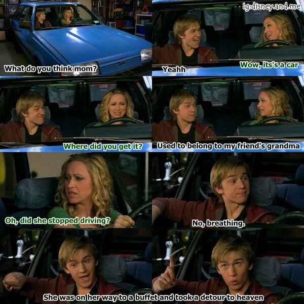 Disney Channel Good Luck Charlie. Teddy Duncan, PJ Duncan, Gabe Duncan, Amy Duncan, and Bob Duncan. Jason Dolley and Leigh Allyn Baker. PJ's new car