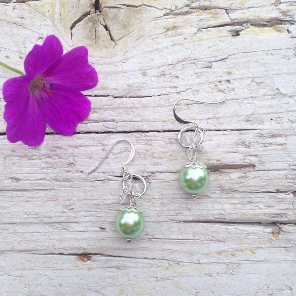 Orecchini Tiny Elegance Verdi