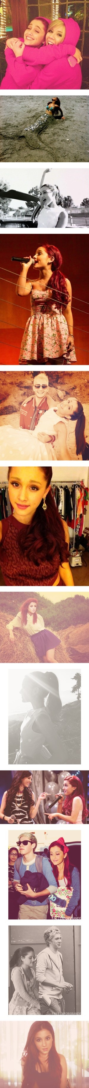 """004//{Ariana Grande}"" by pewds-direction ❤ liked on Polyvore"