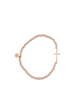 Rome Strass Cross Rose PS Call Me!