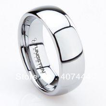Olcsó ár Promotion!  Ingyenes kiszállítás!  6mm / 8mm USA Hot Értékesítés Férfi Tungsten Classic Wedding Band The One Ring tehetséges Box (Kína (szárazföld))