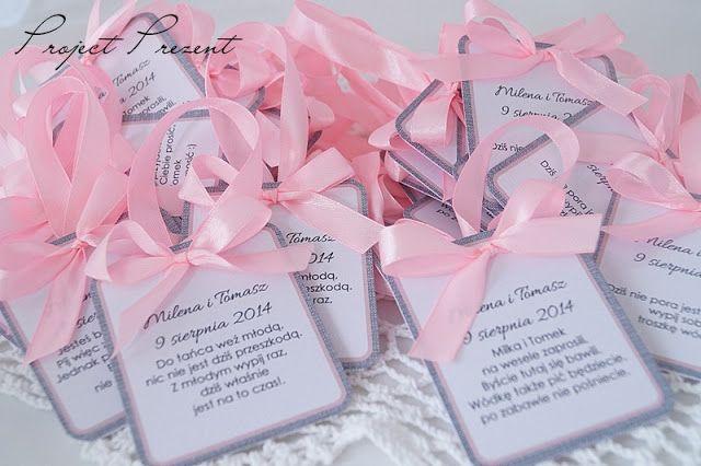 Oprawa ślubna - dodatki weselne