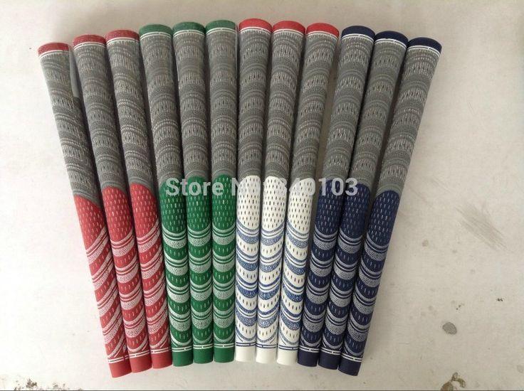 Gratis Verzending DHL 2017 Hot Nieuwe Collectie Golf Grips100 % Carbon Garen Golf Grip Hight kwaliteit 4 kleuren wereld Merk