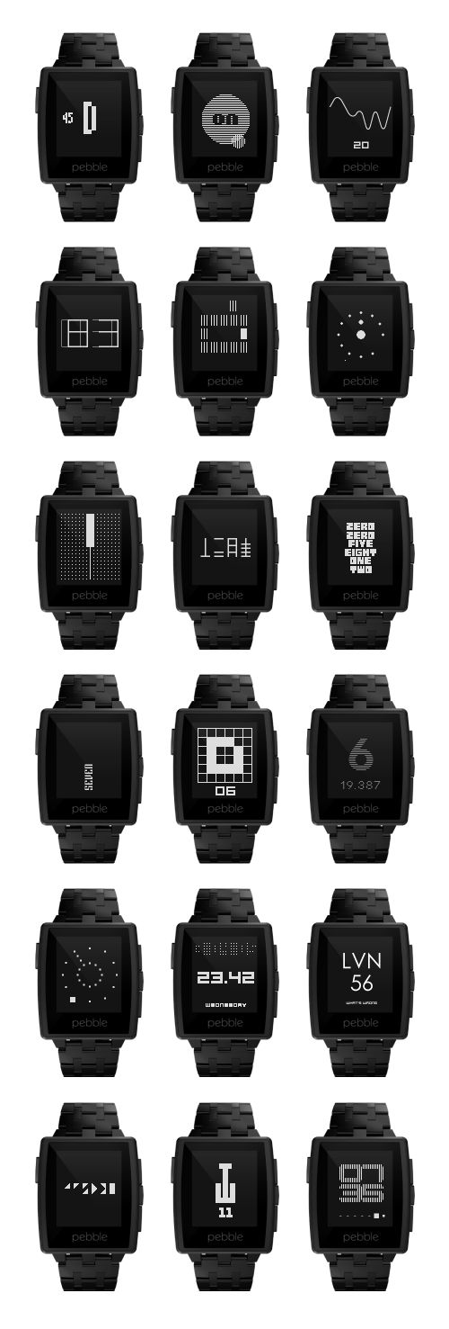 TTMM watchfaces collection for #Pebble https://itunes.apple.com/us/app/ttmm-watchfaces-for-pebble/id694623195
